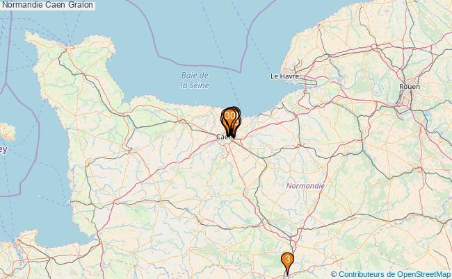 plan Normandie Caen Associations Normandie Caen : 186 associations