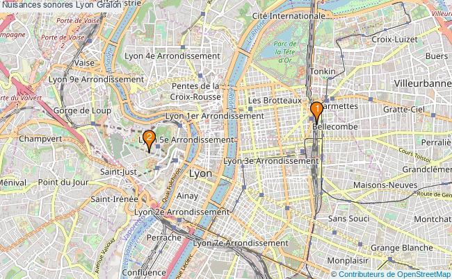 plan Nuisances sonores Lyon Associations nuisances sonores Lyon : 2 associations