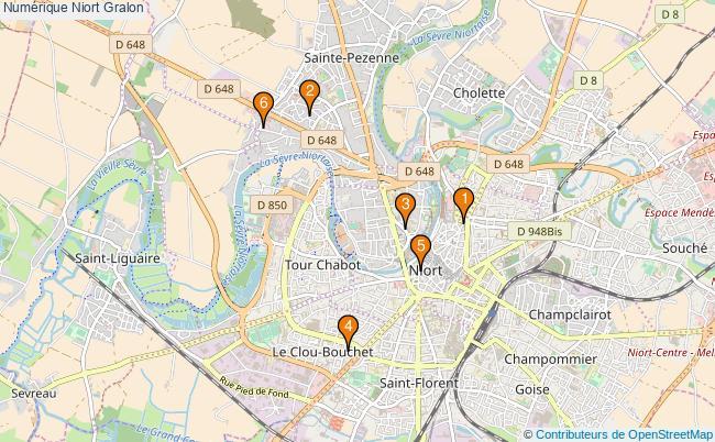plan Numérique Niort Associations Numérique Niort : 6 associations