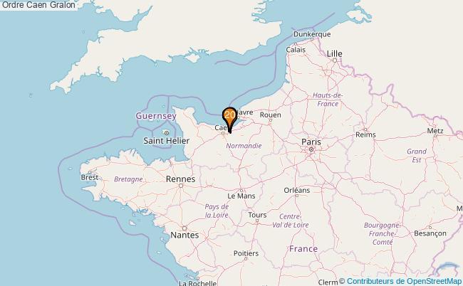 plan Ordre Caen Associations ordre Caen : 21 associations