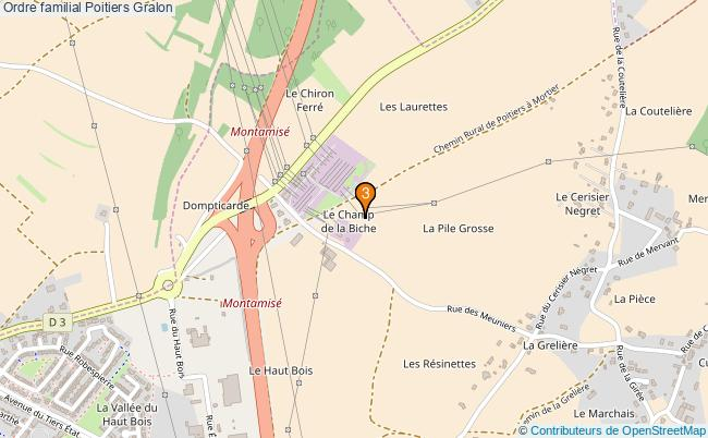 plan Ordre familial Poitiers Associations ordre familial Poitiers : 3 associations