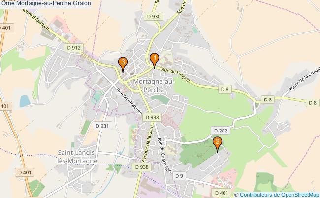 plan Orne Mortagne-au-Perche Associations Orne Mortagne-au-Perche : 5 associations