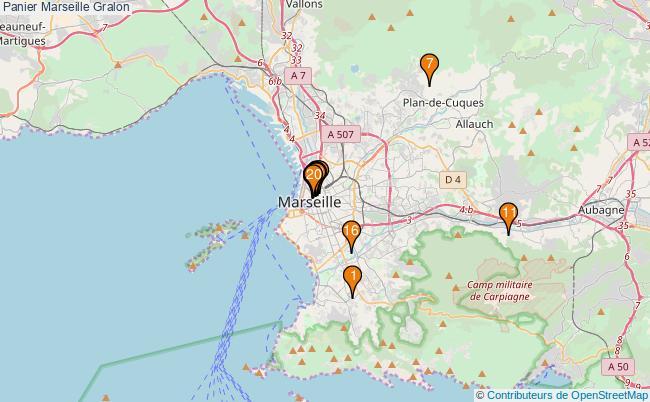 plan Panier Marseille Associations Panier Marseille : 20 associations