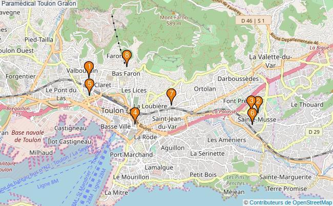 plan Paramédical Toulon Associations paramédical Toulon : 9 associations