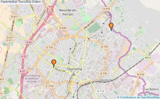 plan Paramédical Tourcoing Associations paramédical Tourcoing : 2 associations