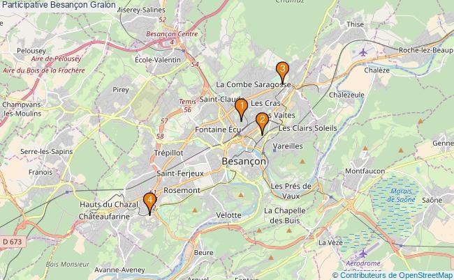 plan Participative Besançon Associations Participative Besançon : 5 associations