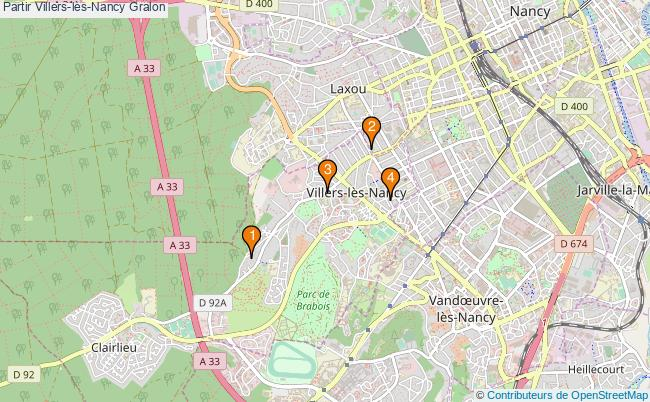 plan Partir Villers-lès-Nancy Associations partir Villers-lès-Nancy : 4 associations