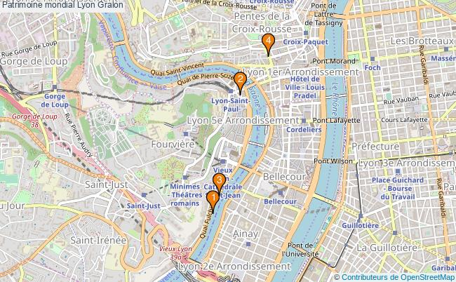 plan Patrimoine mondial Lyon Associations Patrimoine mondial Lyon : 4 associations