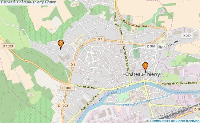 plan Pauvreté Château-Thierry Associations pauvreté Château-Thierry : 2 associations