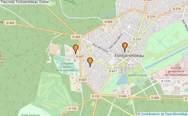 plan Pauvreté Fontainebleau Associations pauvreté Fontainebleau : 3 associations