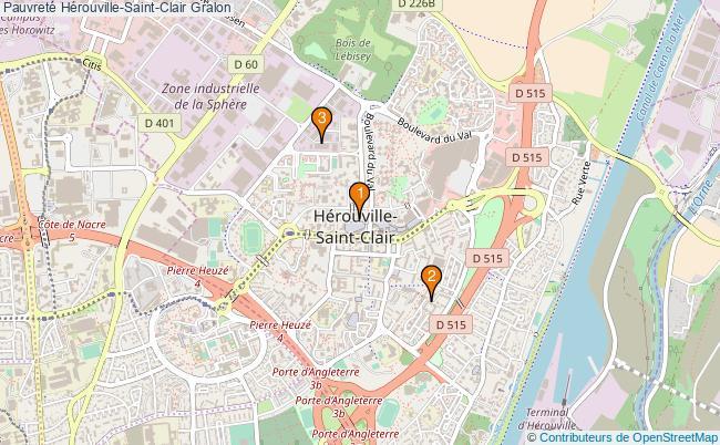 plan Pauvreté Hérouville-Saint-Clair Associations pauvreté Hérouville-Saint-Clair : 4 associations