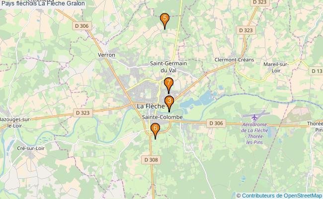 plan Pays fléchois La Flèche Associations pays fléchois La Flèche : 7 associations