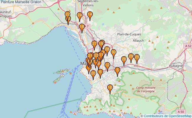 plan Peinture Marseille Associations peinture Marseille : 176 associations