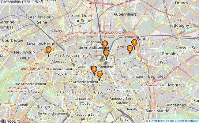 plan Performatifs Paris Associations performatifs Paris : 10 associations