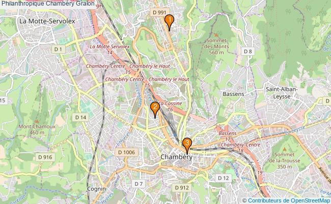 plan Philanthropique Chambéry Associations philanthropique Chambéry : 3 associations
