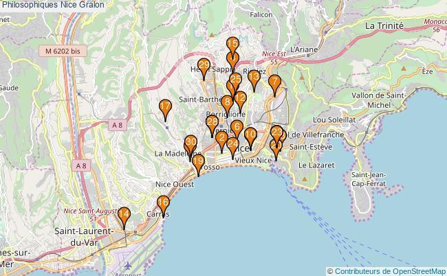 plan Philosophiques Nice Associations Philosophiques Nice : 60 associations