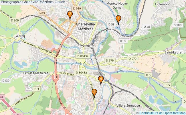 plan Photographie Charleville-Mézières Associations photographie Charleville-Mézières : 4 associations