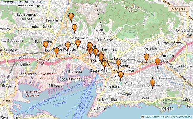 plan Photographie Toulon Associations photographie Toulon : 20 associations