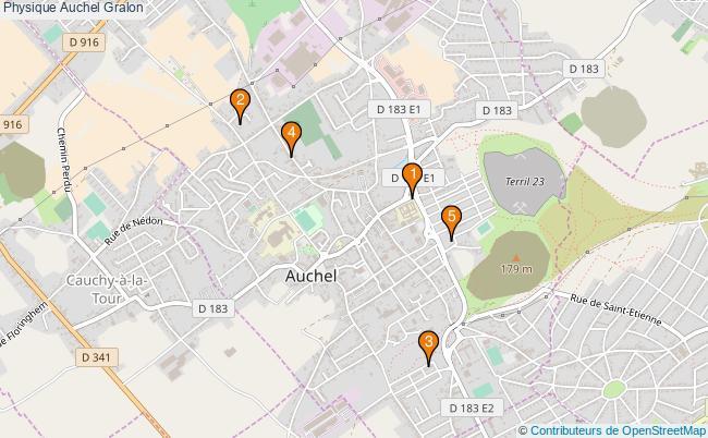 plan Physique Auchel Associations physique Auchel : 5 associations