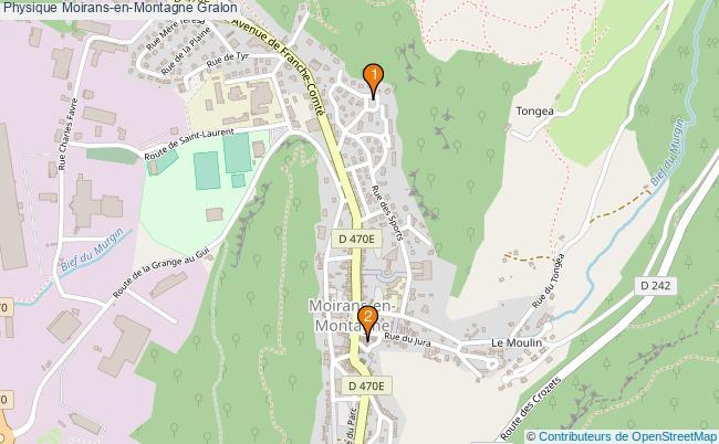 plan Physique Moirans-en-Montagne Associations physique Moirans-en-Montagne : 2 associations