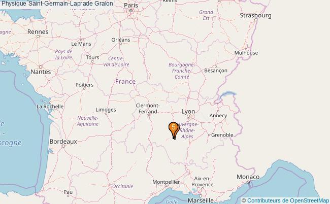 plan Physique Saint-Germain-Laprade Associations physique Saint-Germain-Laprade : 5 associations