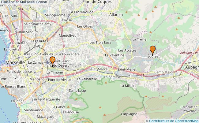 plan Plaisancier Marseille Associations plaisancier Marseille : 2 associations