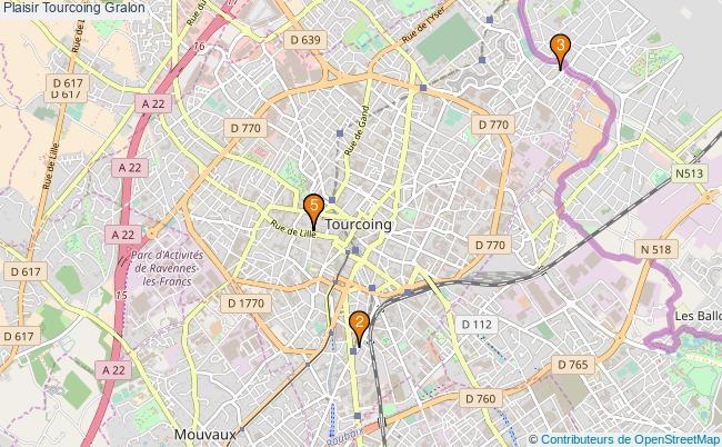 plan Plaisir Tourcoing Associations Plaisir Tourcoing : 5 associations