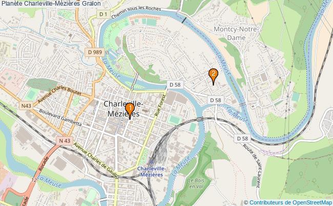 plan Planète Charleville-Mézières Associations Planète Charleville-Mézières : 2 associations