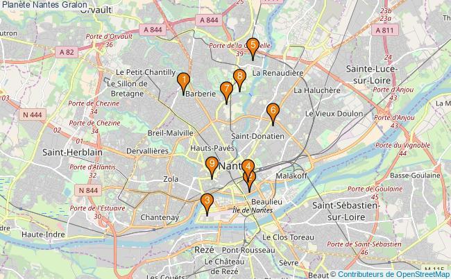 plan Planète Nantes Associations Planète Nantes : 14 associations