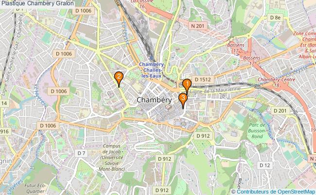 plan Plastique Chambéry Associations plastique Chambéry : 3 associations
