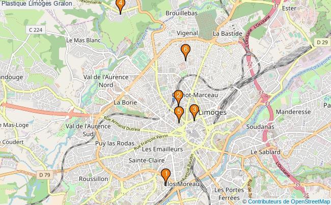 plan Plastique Limoges Associations plastique Limoges : 7 associations