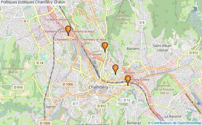 plan Politiques publiques Chambéry Associations politiques publiques Chambéry : 4 associations