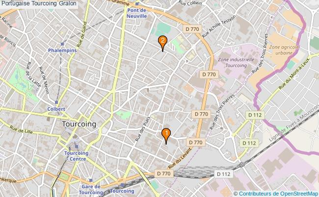 plan Portugaise Tourcoing Associations portugaise Tourcoing : 2 associations