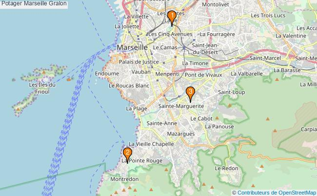 plan Potager Marseille Associations potager Marseille : 5 associations