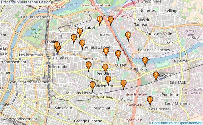 plan Précarité Villeurbanne Associations précarité Villeurbanne : 24 associations