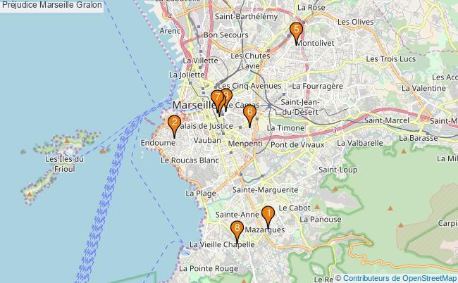 plan Préjudice Marseille Associations Préjudice Marseille : 8 associations