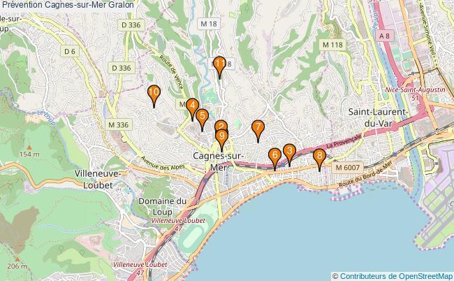 plan Prévention Cagnes-sur-Mer Associations prévention Cagnes-sur-Mer : 13 associations