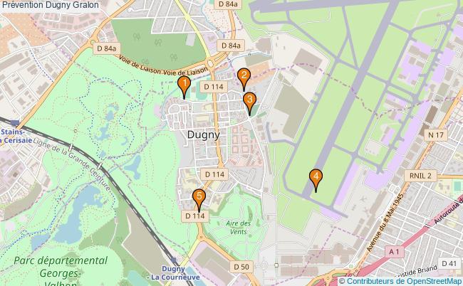 plan Prévention Dugny Associations prévention Dugny : 5 associations
