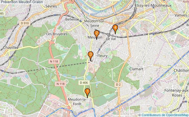 plan Prévention Meudon Associations prévention Meudon : 6 associations
