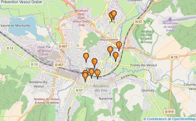 plan Prévention Vesoul Associations prévention Vesoul : 11 associations