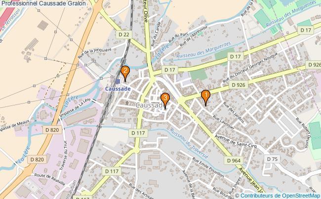 plan Professionnel Caussade Associations professionnel Caussade : 3 associations
