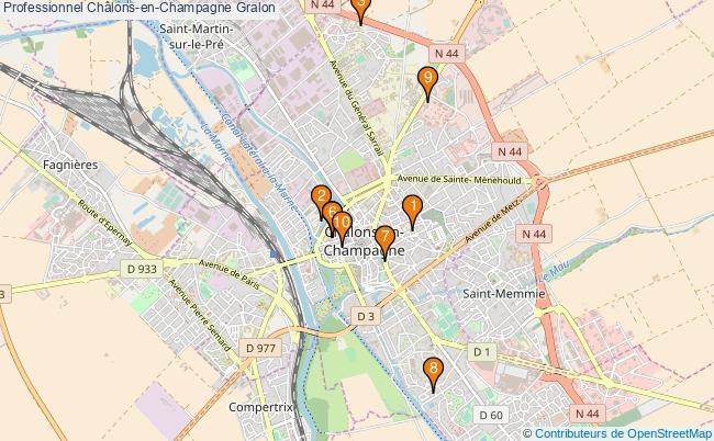 plan Professionnel Châlons-en-Champagne Associations professionnel Châlons-en-Champagne : 10 associations