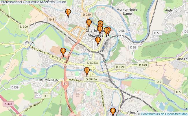 plan Professionnel Charleville-Mézières Associations professionnel Charleville-Mézières : 13 associations