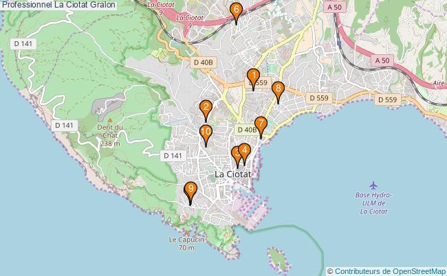 plan Professionnel La Ciotat Associations professionnel La Ciotat : 10 associations