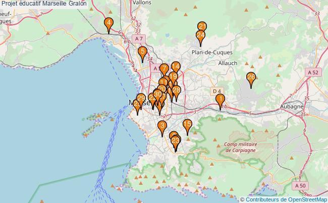 plan Projet éducatif Marseille Associations projet éducatif Marseille : 49 associations