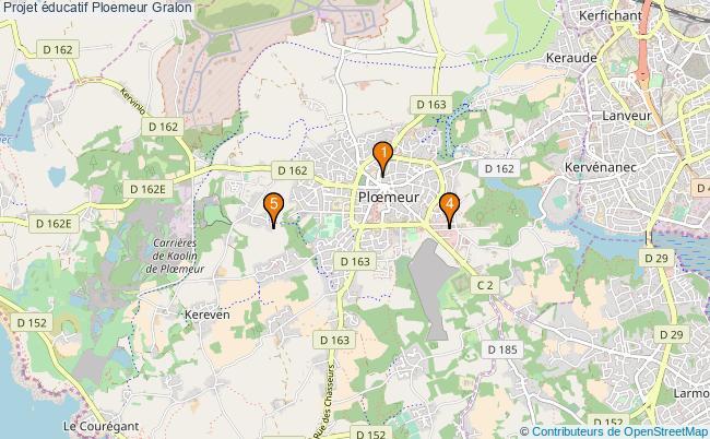 plan Projet éducatif Ploemeur Associations projet éducatif Ploemeur : 5 associations