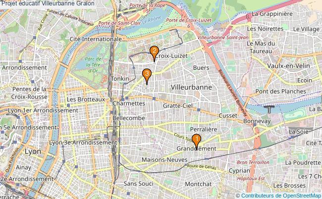 plan Projet éducatif Villeurbanne Associations projet éducatif Villeurbanne : 3 associations