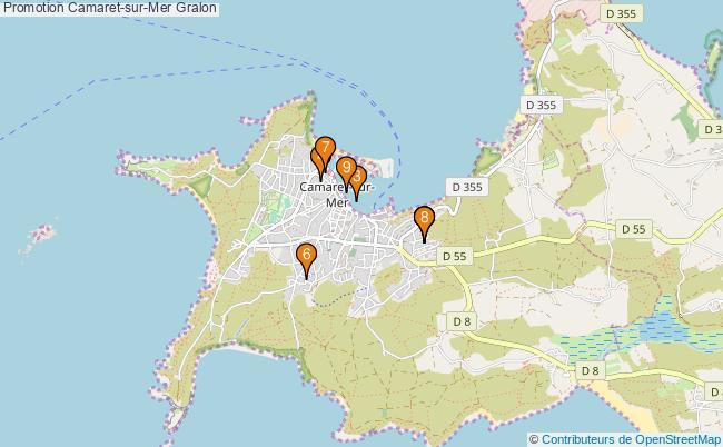 plan Promotion Camaret-sur-Mer Associations Promotion Camaret-sur-Mer : 9 associations