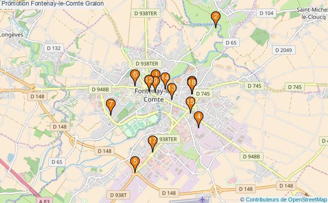 plan Promotion Fontenay-le-Comte Associations Promotion Fontenay-le-Comte : 18 associations