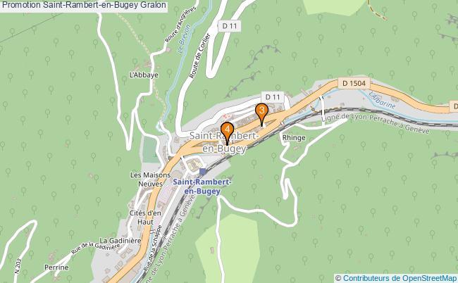 plan Promotion Saint-Rambert-en-Bugey Associations Promotion Saint-Rambert-en-Bugey : 4 associations